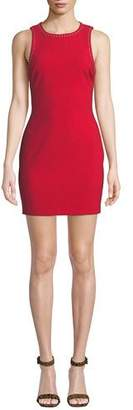 LIKELY Manhattan Fitted Sleeveless Mini Dress