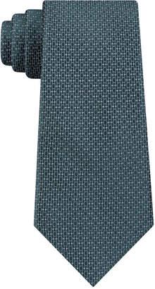 DKNY Men's Geo Building Block Slim Silk Tie