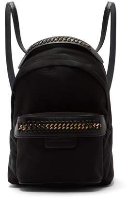 Stella McCartney (ステラ マッカートニー) - Stella Mccartney - Falabella Go Mini Nylon Backpack - Womens - Black