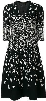 Bottega Veneta nero viscose dress