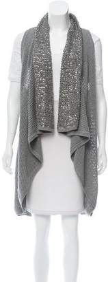 Alice + Olivia Embellished Asymmetrical Vest w/ Tags