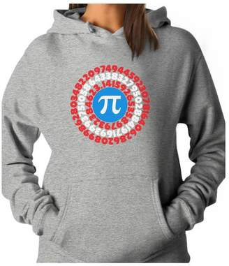 DAY Birger et Mikkelsen TeeStars Pi Superhero - Captain Pi Gift For Math Geeks Pi Symbol Women Hoodie
