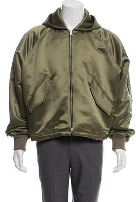 Fear Of God Satin Hooded Bomber w/ Tags
