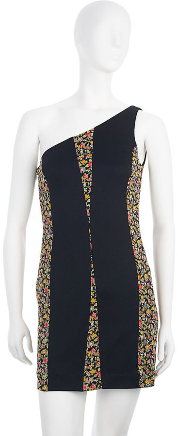Rag & Bone Sheath Dress - Black/Floral