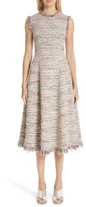 ADAM by Adam Lippes Tweed A-Line Dress