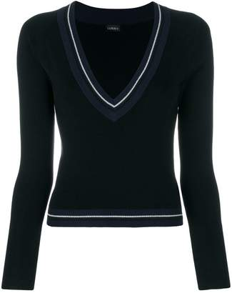 La Perla Silk Soul v-neck jumper
