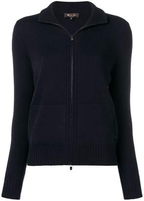 Loro Piana zipped cardigan