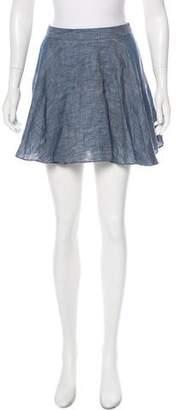 Jenni Kayne Chambray A-Line Skirt