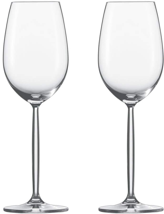 Zwiesel Kristallglas AG Diva Weinglas, Weißwein (2er-Set)