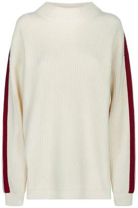 Burberry Knitted Side Stripe Sweater