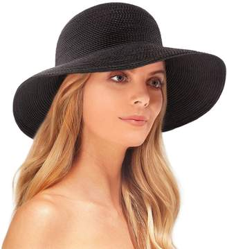 Eric Javits Luxury Fashion Designer Women's Headwear Hat - Squishee IV - Black