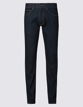 "Marks and Spencer Slim Fit Stretch Jeans with Stormwearâ""¢"