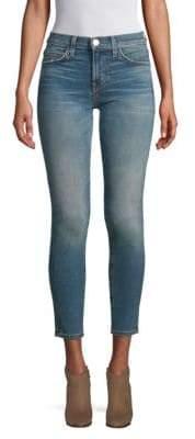 Current/Elliott High Waisted Stiletto Skinny Jeans