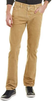AG Jeans The Matchbox Sulfur Silica Sand Corduroy Slim Straight Leg