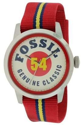 Fossil Townsman Nylon Mens Watch FS4922