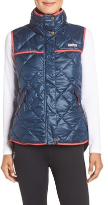 Women's Columbia 'Harborside' Water Repellent Vest $100 thestylecure.com