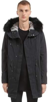 16e256fb4660 Yves Salomon Men s Outerwear - ShopStyle