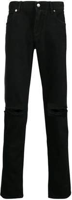 Dolce & Gabbana distressed slim-fit jeans