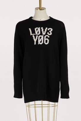 RED Valentino Love wool sweater