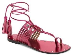 Topshop Fay Embellished Wraparound Sandal