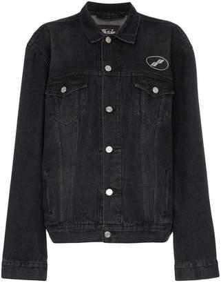 We11done USA faded denim jacket