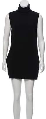 Haider Ackermann Wool Turtleneck Dress
