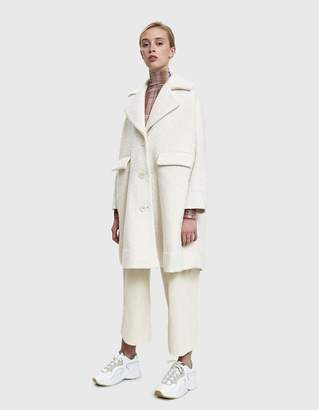 Ganni Fenn Oversized Coat