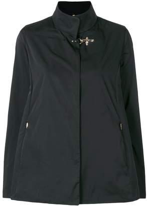 Fay high neck boxy jacket