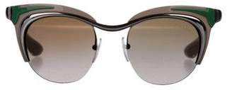 Prada Tinted Cat-Eye Sunglasses