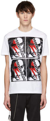 DSQUARED2 White Punk Cool Fit T-Shirt