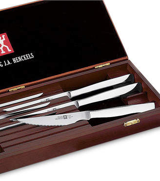 Zwilling J.A. Henckels Zwilling Twin Gourmet 8-Piece Stainless Steak Knife Set