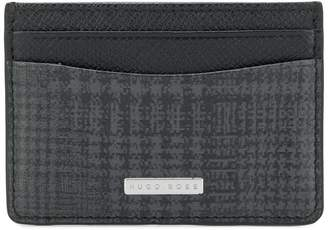 HUGO BOSS patterned slim cardholder