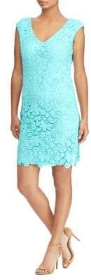 Lauren Ralph Lauren Lace Capsleeve Dress