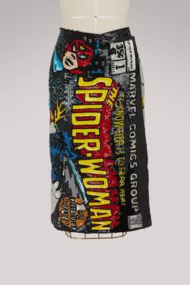 Olympia Le-Tan Olympia Le Tan Spider Woman sequined skirt