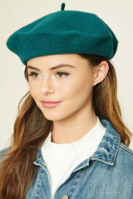 FOREVER 21+ Wool Beret $12.90 thestylecure.com