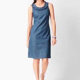 Talbots Denim Shift Dress