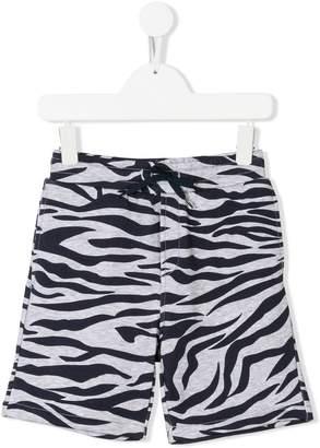 Kenzo zebra print shorts