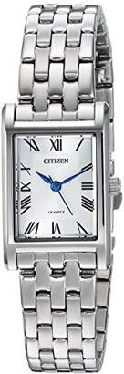 Citizen Women's Quartz Stainless Steel Casual Watch
