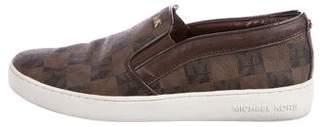 Michael Kors Logo Slip-On Sneakers
