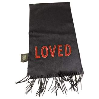 Gucci Navy Cashmere Scarves