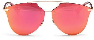 Christian Dior 'Dior Reflected' prism effect mounted mirror lens sunglasses