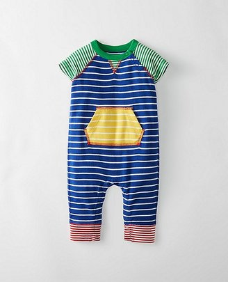 Baby Stripey All In One In Organic Cotton $36 thestylecure.com