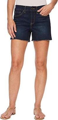"""NYDJ Women's Short with Fray Hem & Side Slit 5"""" Inseam"""