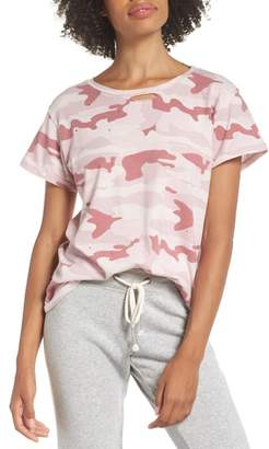 Rag Doll RAGDOLL Distressed Camo Tee