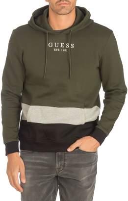 GUESS Davy Cotton-Blend Fleece Hoodie