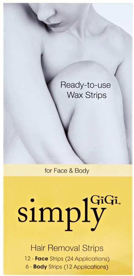 Gigi Ready To Use Wax Strips