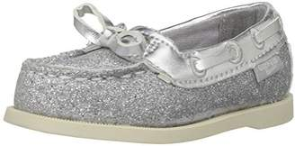 Osh Kosh Georgie Girl's Glitter Boat Shoe