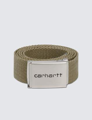 Carhartt Work In Progress Chrome Clip Belt