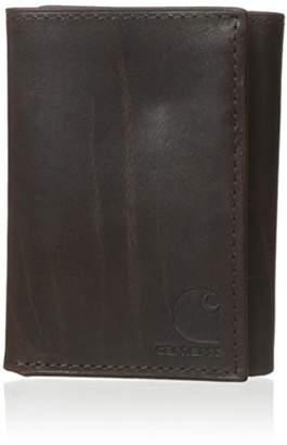 Carhartt Men's Oil Tan Trifold Wallet