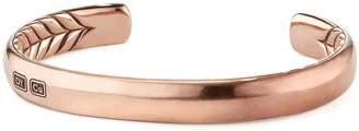 David Yurman Titian Streamline Cuff Bracelet in Copper